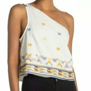 Free People Bali Babe One Shoulder Top